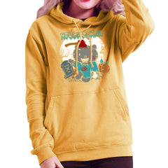 Hello Zombie Kitty Women's Hooded Sweatshirt Women's Hooded Sweatshirt Cloud City 7 - 18