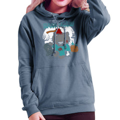 Hello Zombie Kitty Women's Hooded Sweatshirt Women's Hooded Sweatshirt Cloud City 7 - 9