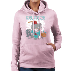 Hello Zombie Kitty Women's Hooded Sweatshirt Women's Hooded Sweatshirt Cloud City 7 - 21
