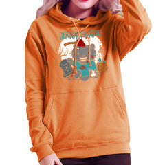 Hello Zombie Kitty Women's Hooded Sweatshirt Women's Hooded Sweatshirt Cloud City 7 - 17