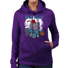 Hello Zombie Kitty Women's Hooded Sweatshirt Women's Hooded Sweatshirt Cloud City 7 - 19