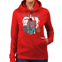 Hello Zombie Kitty Women's Hooded Sweatshirt Women's Hooded Sweatshirt Cloud City 7 - 16
