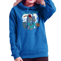 Hello Zombie Kitty Women's Hooded Sweatshirt Women's Hooded Sweatshirt Cloud City 7 - 8