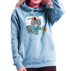 Hello Zombie Kitty Women's Hooded Sweatshirt Women's Hooded Sweatshirt Cloud City 7 - 11