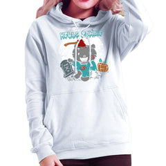 Hello Zombie Kitty Women's Hooded Sweatshirt Women's Hooded Sweatshirt Cloud City 7 - 6