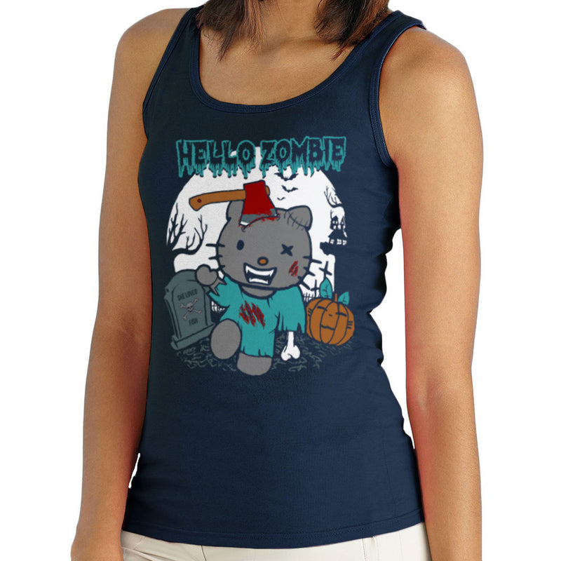 Hello Zombie Kitty Women's Vest by Kempo24 - Cloud City 7