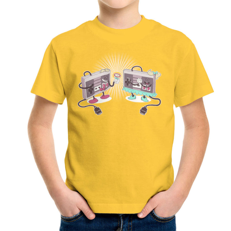 NES Loves Retro Nintendo Controller Kid's T-Shirt Kid's Boy's T-Shirt Cloud City 7 - 17