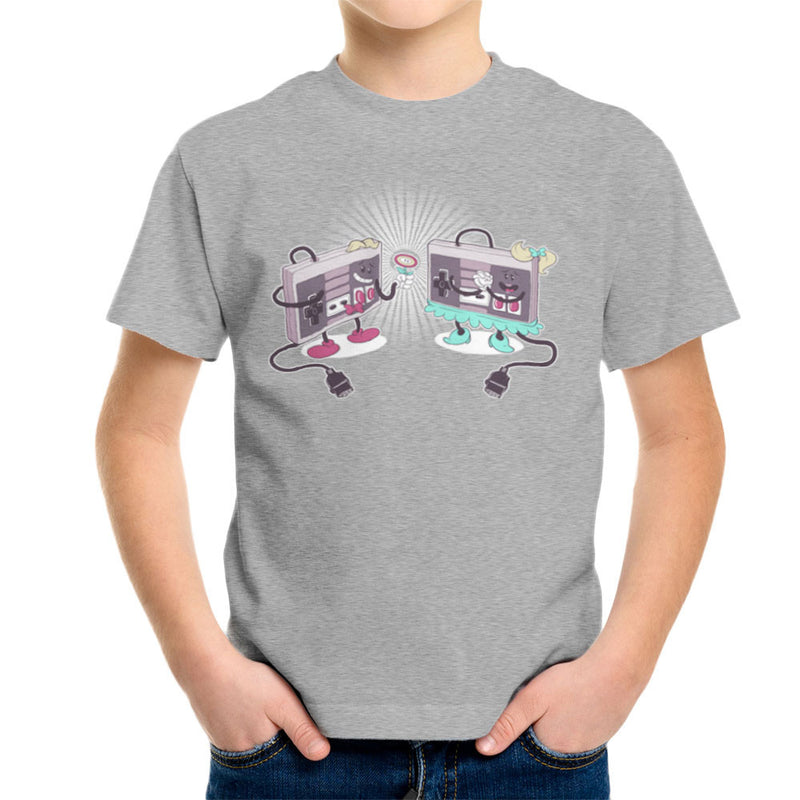NES Loves Retro Nintendo Controller Kid's T-Shirt Kid's Boy's T-Shirt Cloud City 7 - 5