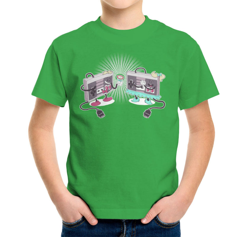 NES Loves Retro Nintendo Controller Kid's T-Shirt Kid's Boy's T-Shirt Cloud City 7 - 14