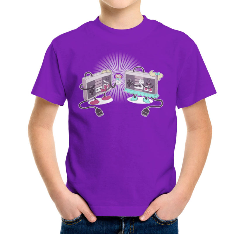 NES Loves Retro Nintendo Controller Kid's T-Shirt Kid's Boy's T-Shirt Cloud City 7 - 18