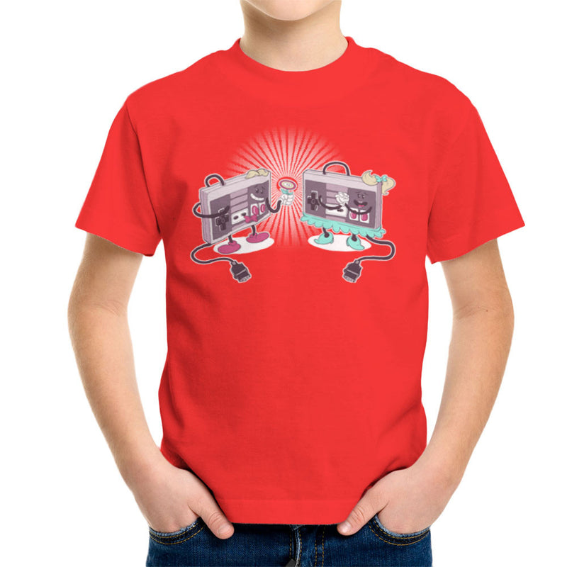 NES Loves Retro Nintendo Controller Kid's T-Shirt Kid's Boy's T-Shirt Cloud City 7 - 15