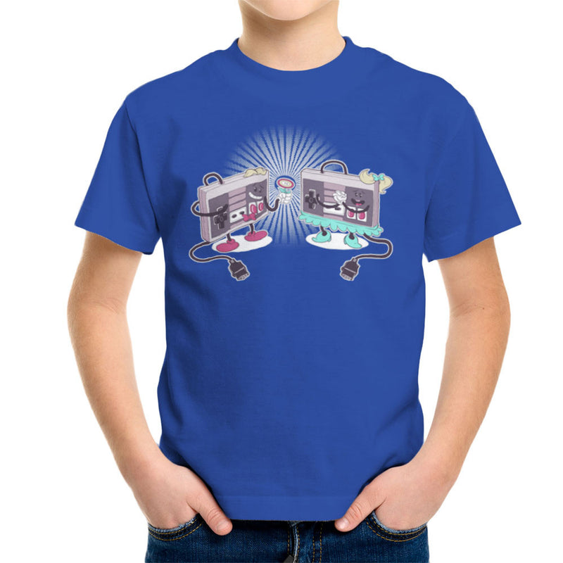 NES Loves Retro Nintendo Controller Kid's T-Shirt Kid's Boy's T-Shirt Cloud City 7 - 8