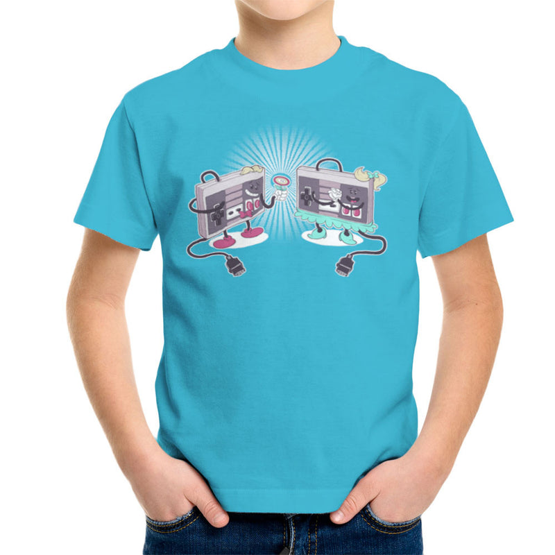 NES Loves Retro Nintendo Controller Kid's T-Shirt Kid's Boy's T-Shirt Cloud City 7 - 10