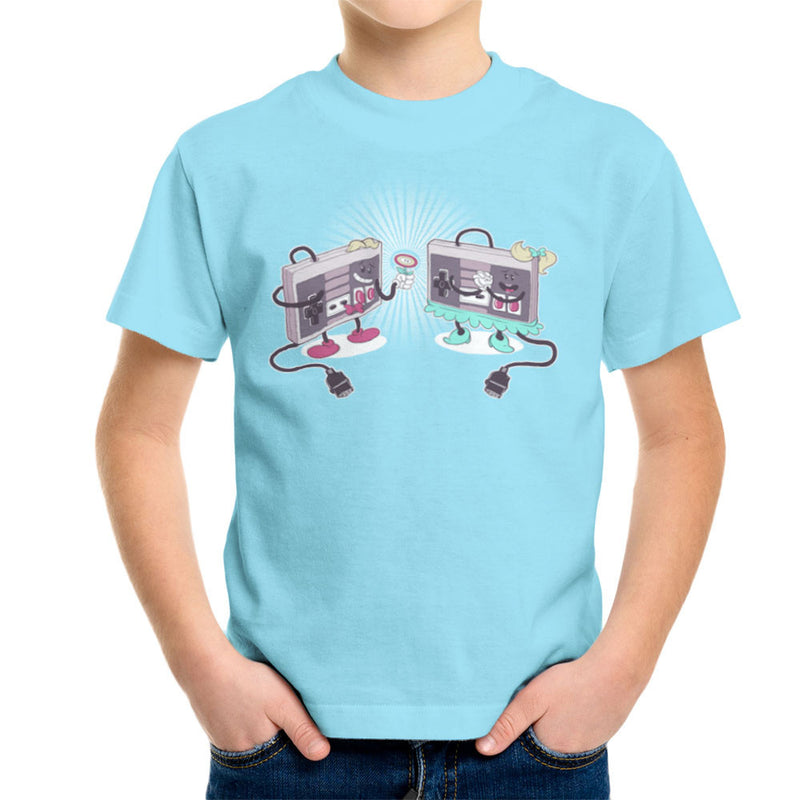 NES Loves Retro Nintendo Controller Kid's T-Shirt Kid's Boy's T-Shirt Cloud City 7 - 11