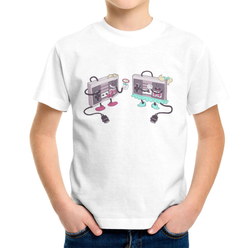 NES Loves Retro Nintendo Controller Kid's T-Shirt Kid's Boy's T-Shirt Cloud City 7 - 6