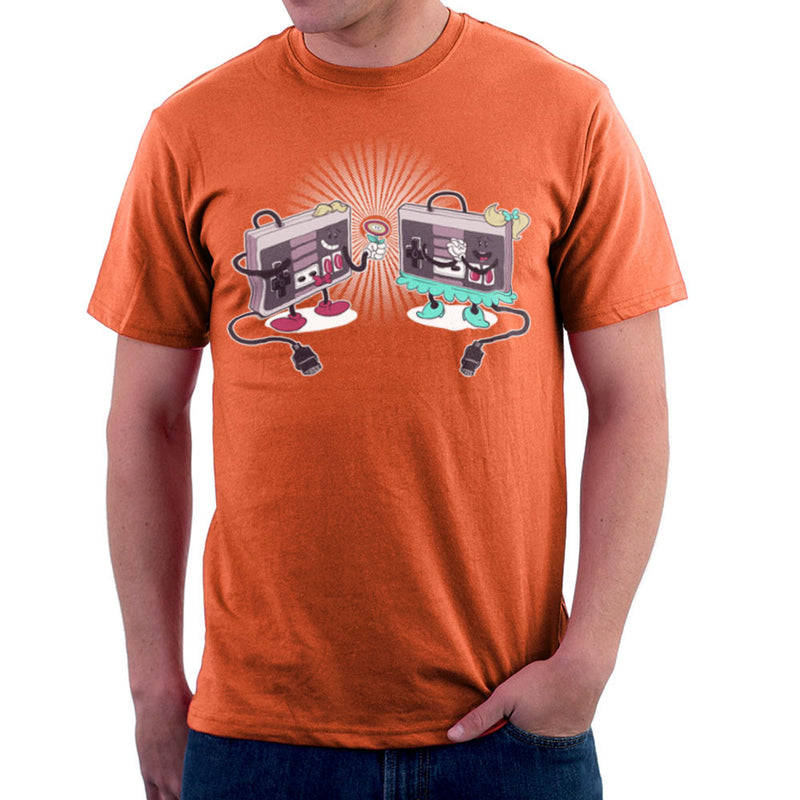 NES Loves Retro Nintendo Controller Men's T-Shirt Men's T-Shirt Cloud City 7 - 17