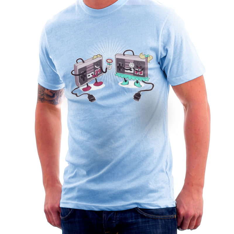 NES Loves Retro Nintendo Controller Men's T-Shirt Men's T-Shirt Cloud City 7 - 11