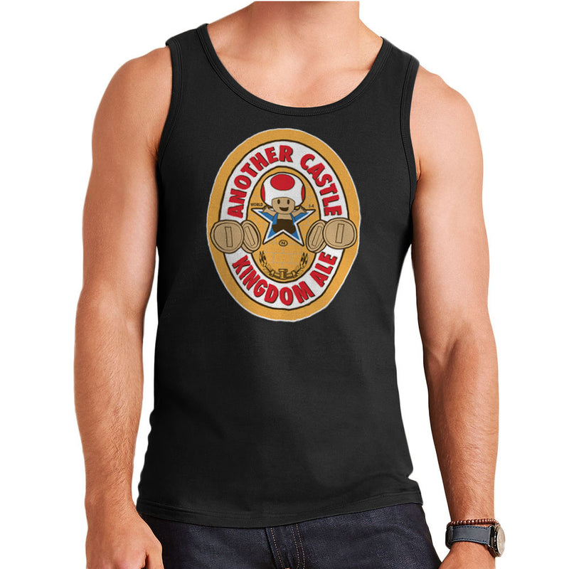 Another Castle Kingdom Ale Newcastle Brown Mario Toad Men's Vest Men's Vest Cloud City 7 - 2