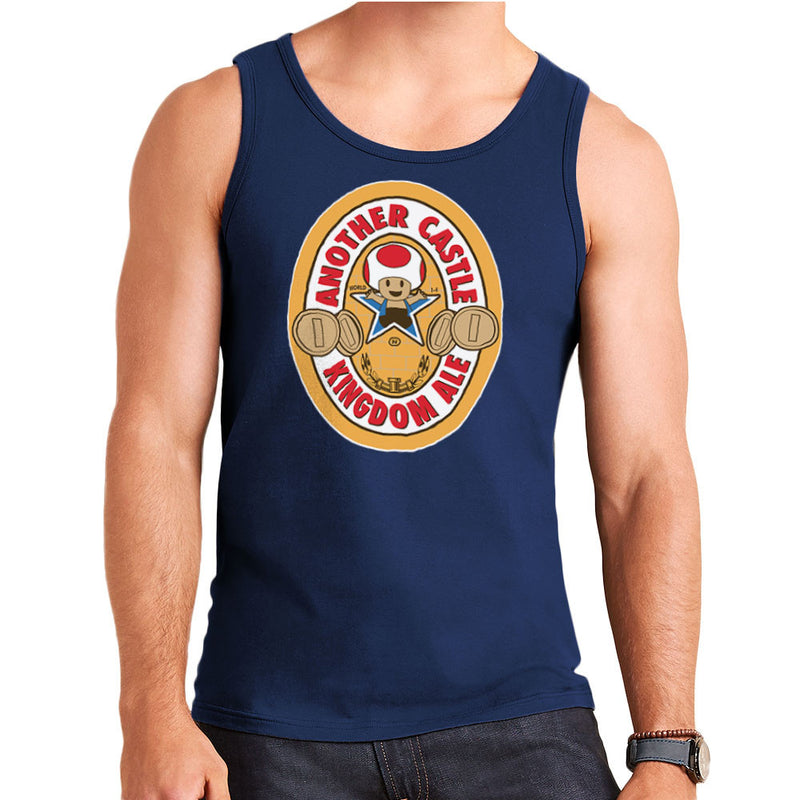 Another Castle Kingdom Ale Newcastle Brown Mario Toad Men's Vest Men's Vest Cloud City 7 - 6