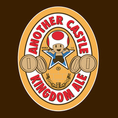 Another Castle Kingdom Ale Newcastle Brown Mario Toad design Cloud City 7 - 1