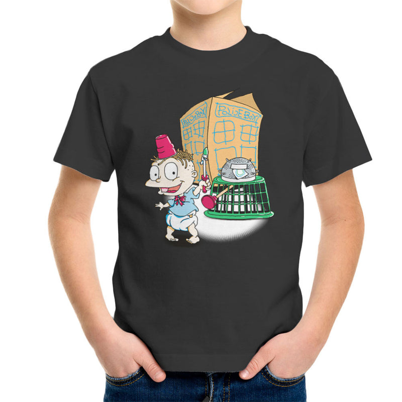 Rugrats Tommy Who Tardis Kid's T-Shirt by Bryan SilverBaX - Cloud City 7