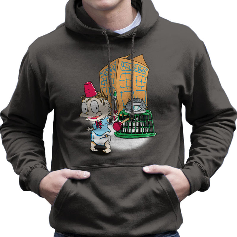 Rugrats Tommy Who Tardis Men's Hooded Sweatshirt Men's Hooded Sweatshirt Cloud City 7 - 4