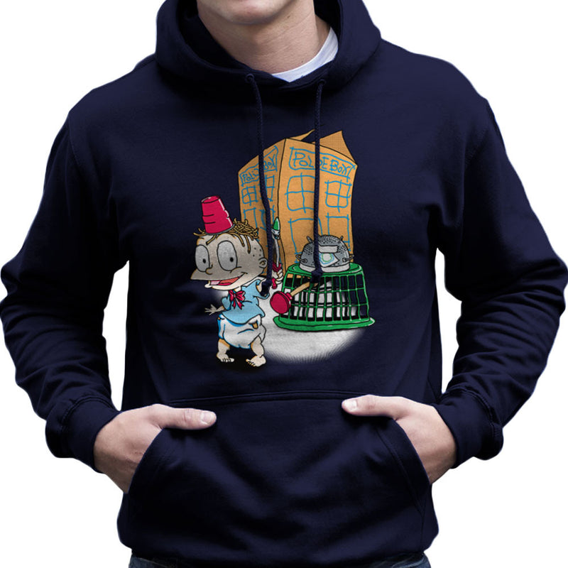Rugrats Tommy Who Tardis Men's Hooded Sweatshirt Men's Hooded Sweatshirt Cloud City 7 - 7