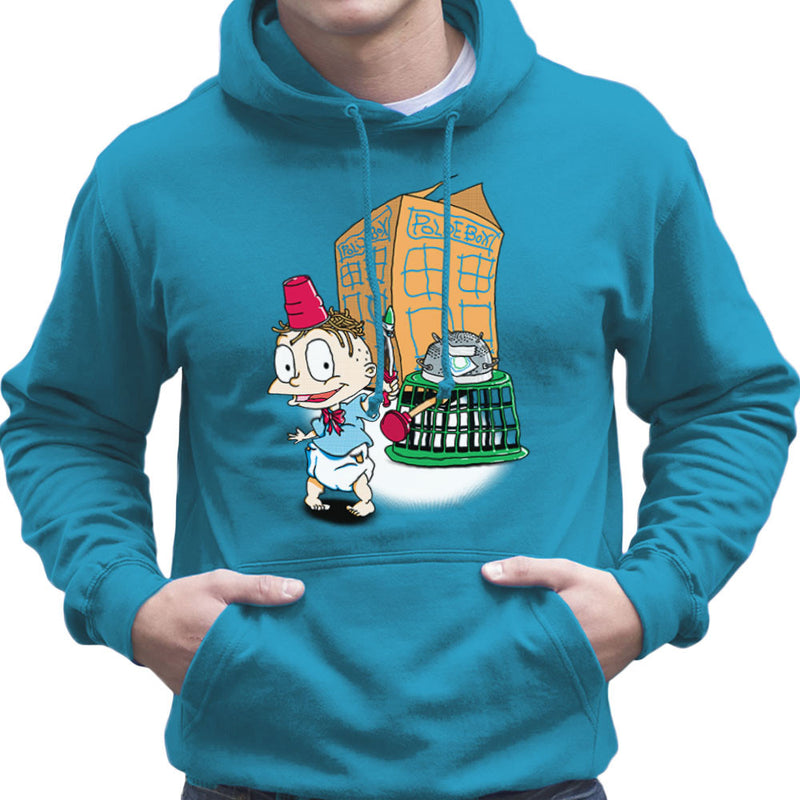 Rugrats Tommy Who Tardis Men's Hooded Sweatshirt Men's Hooded Sweatshirt Cloud City 7 - 10