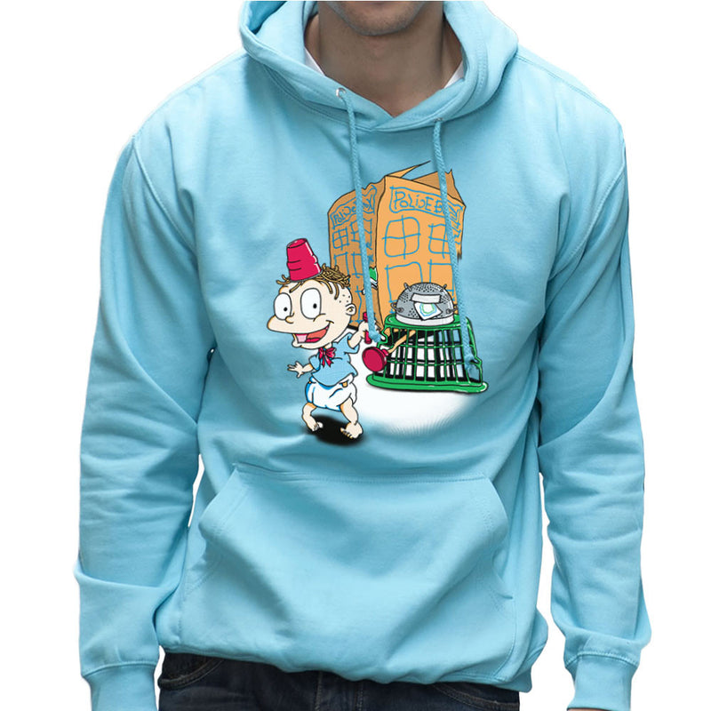 Rugrats Tommy Who Tardis Men's Hooded Sweatshirt Men's Hooded Sweatshirt Cloud City 7 - 11