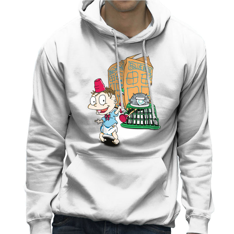 Rugrats Tommy Who Tardis Men's Hooded Sweatshirt Men's Hooded Sweatshirt Cloud City 7 - 6