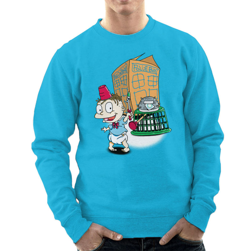 Rugrats Tommy Who Tardis Men's Sweatshirt by Bryan SilverBaX - Cloud City 7