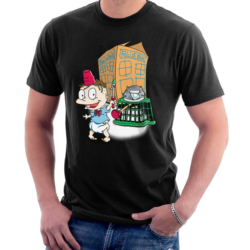 Rugrats Tommy Who Tardis Men's T-Shirt Men's T-Shirt Cloud City 7 - 2