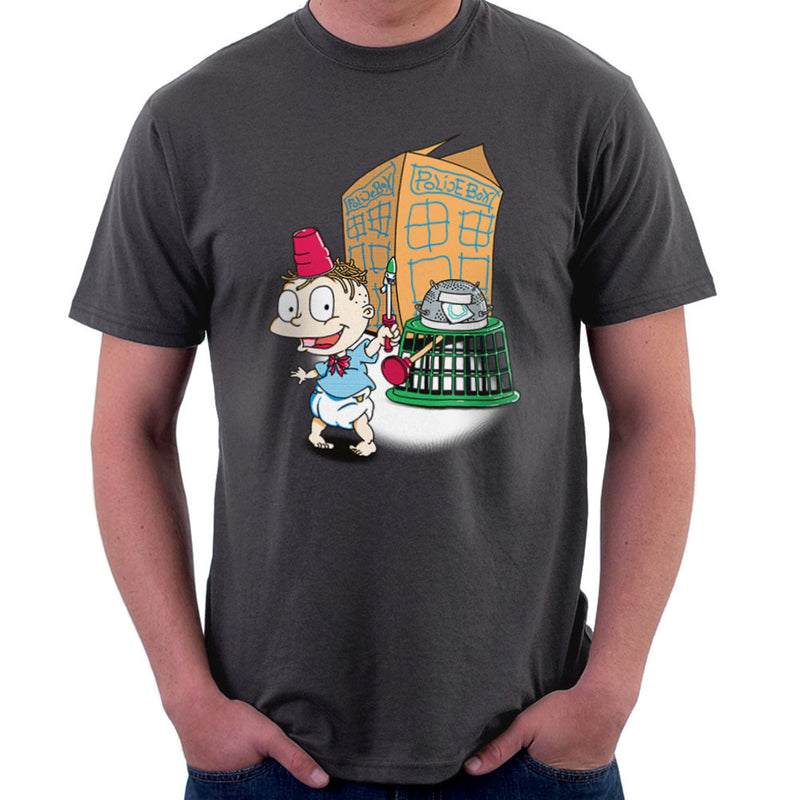 Rugrats Tommy Who Tardis Men's T-Shirt Men's T-Shirt Cloud City 7 - 4