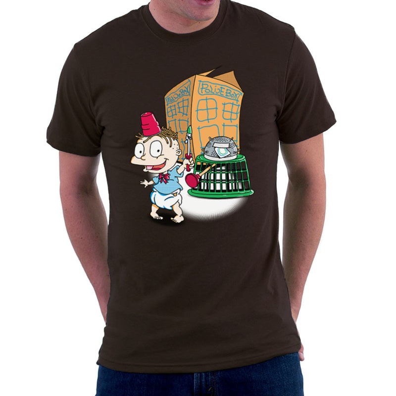 Rugrats Tommy Who Tardis Men's T-Shirt Men's T-Shirt Cloud City 7 - 12