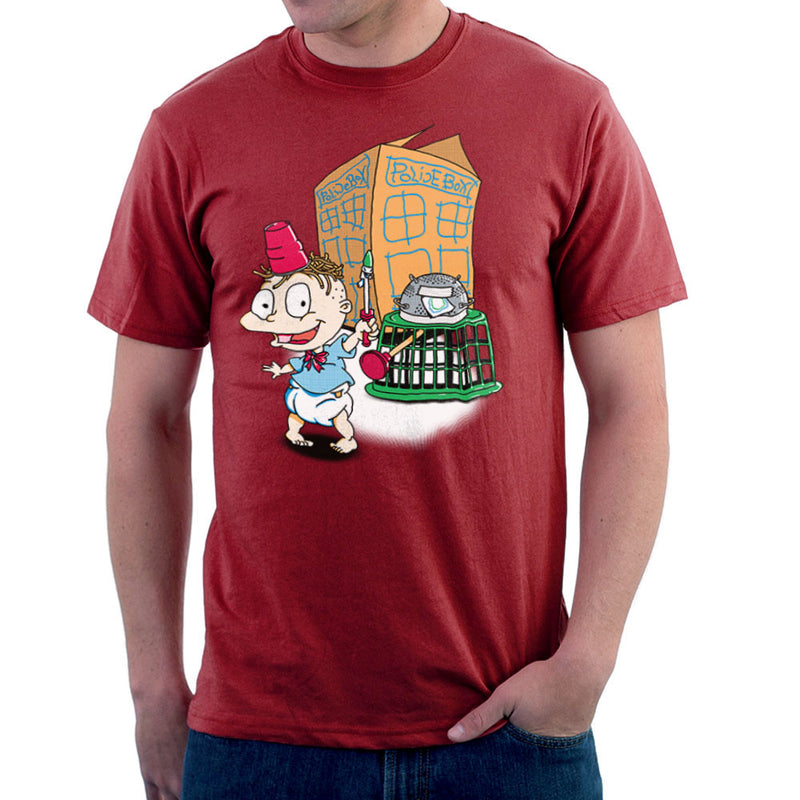 Rugrats Tommy Who Tardis Men's T-Shirt Men's T-Shirt Cloud City 7 - 15