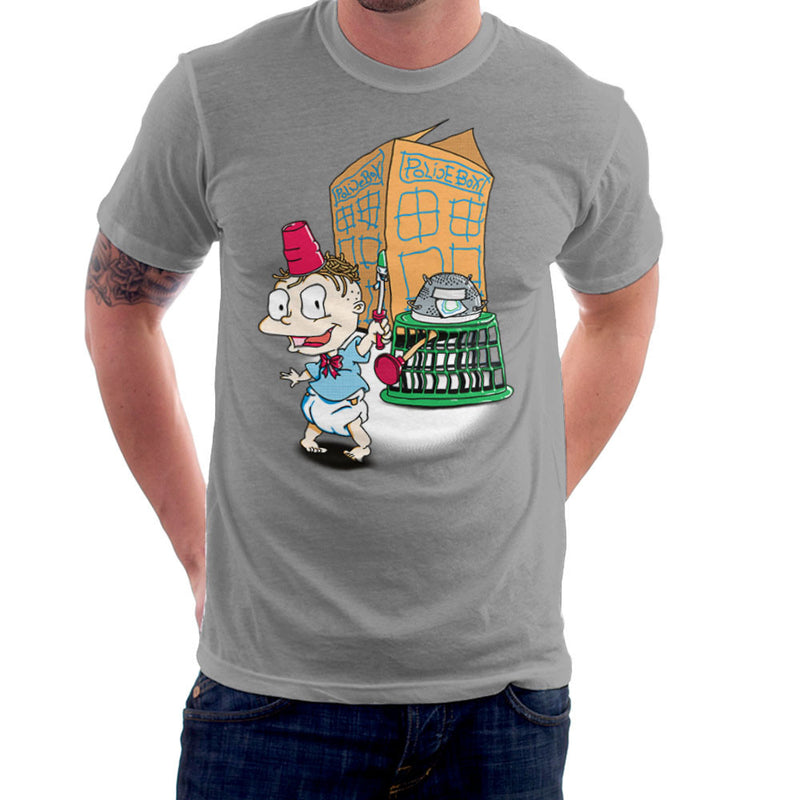 Rugrats Tommy Who Tardis Men's T-Shirt Men's T-Shirt Cloud City 7 - 5