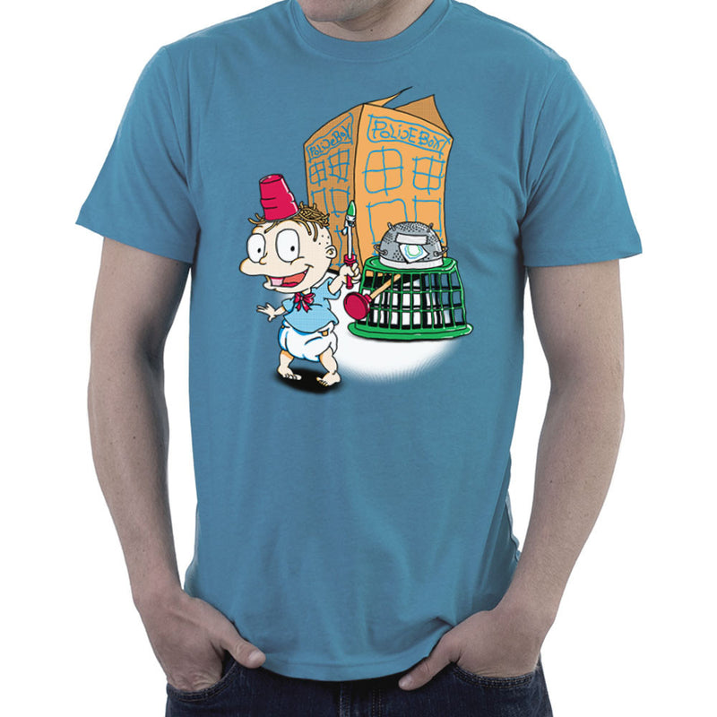 Rugrats Tommy Who Tardis Men's T-Shirt Men's T-Shirt Cloud City 7 - 9