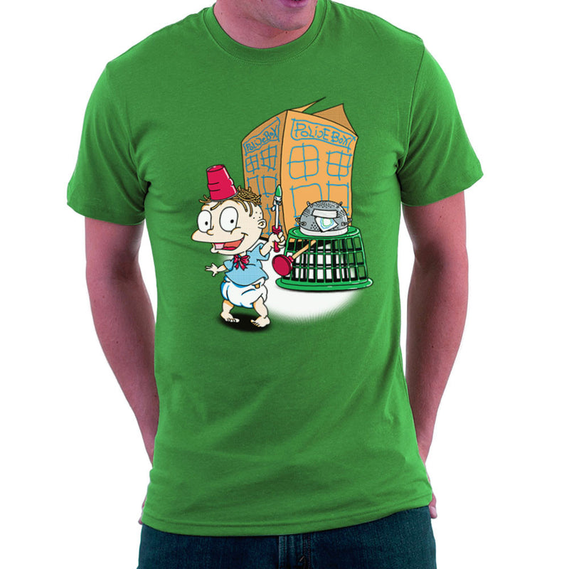 Rugrats Tommy Who Tardis Men's T-Shirt Men's T-Shirt Cloud City 7 - 14