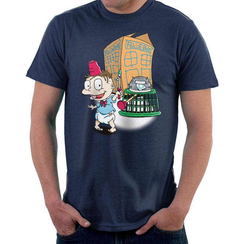 Rugrats Tommy Who Tardis Men's T-Shirt Men's T-Shirt Cloud City 7 - 7