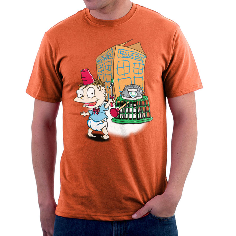 Rugrats Tommy Who Tardis Men's T-Shirt Men's T-Shirt Cloud City 7 - 17