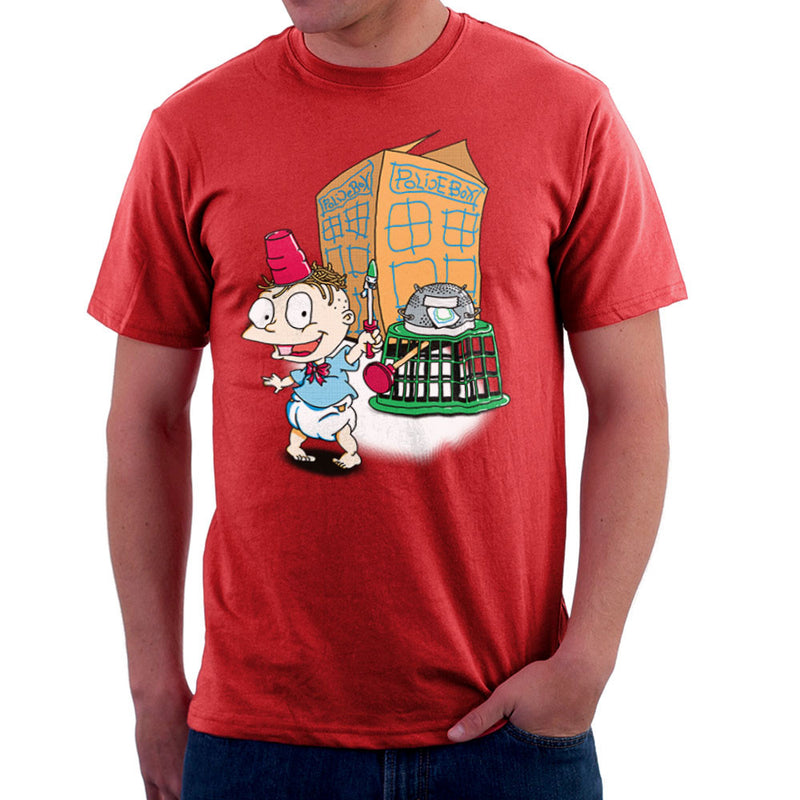 Rugrats Tommy Who Tardis Men's T-Shirt Men's T-Shirt Cloud City 7 - 16