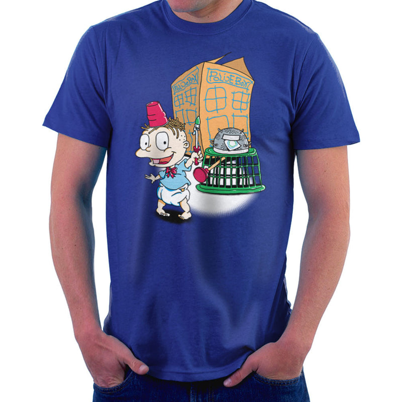 Rugrats Tommy Who Tardis Men's T-Shirt Men's T-Shirt Cloud City 7 - 8