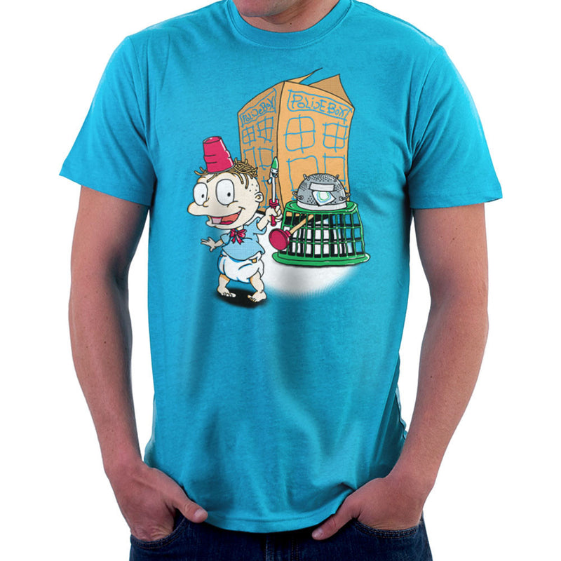 Rugrats Tommy Who Tardis Men's T-Shirt Men's T-Shirt Cloud City 7 - 10