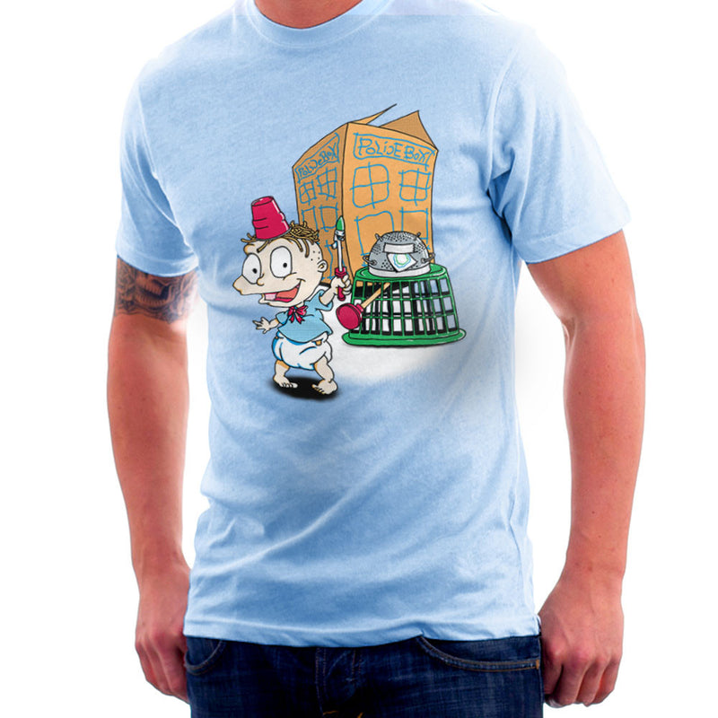 Rugrats Tommy Who Tardis Men's T-Shirt Men's T-Shirt Cloud City 7 - 11