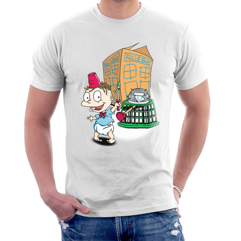 Rugrats Tommy Who Tardis Men's T-Shirt Men's T-Shirt Cloud City 7 - 6