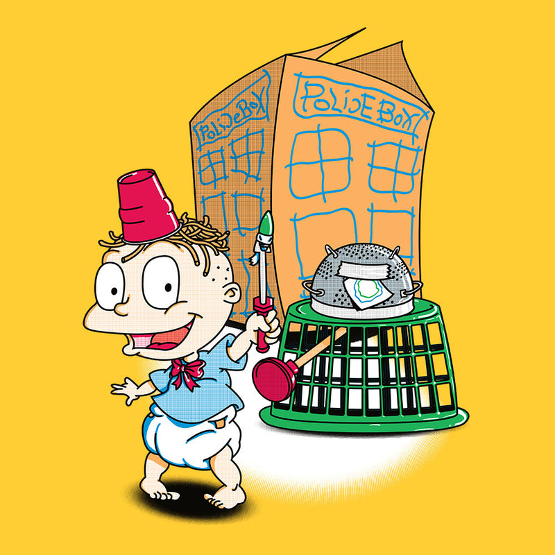 Rugrats Tommy Who Tardis design Cloud City 7 - 1