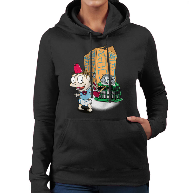Rugrats Tommy Who Tardis Women's Hooded Sweatshirt Women's Hooded Sweatshirt Cloud City 7 - 2