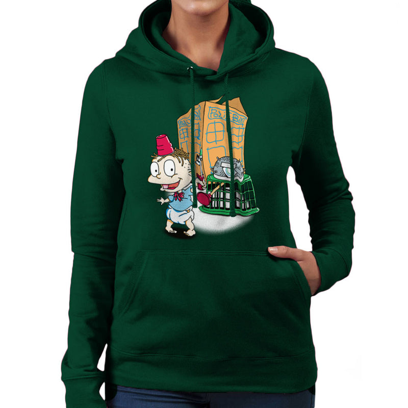 Rugrats Tommy Who Tardis Women's Hooded Sweatshirt Women's Hooded Sweatshirt Cloud City 7 - 13