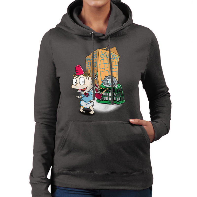 Rugrats Tommy Who Tardis Women's Hooded Sweatshirt Women's Hooded Sweatshirt Cloud City 7 - 4