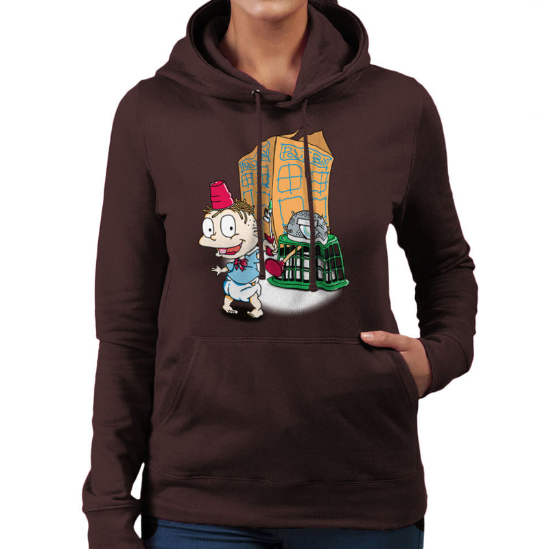 Rugrats Tommy Who Tardis Women's Hooded Sweatshirt Women's Hooded Sweatshirt Cloud City 7 - 12